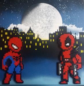 """""""Spider vs Deadpool"""""""