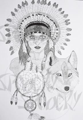 """Dream of Wolf"""